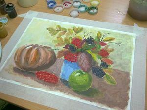 Дары осени. Из жизни арт-студии Кит и Кот, г. Зеленоград. Ярмарка Мастеров - ручная работа, handmade.