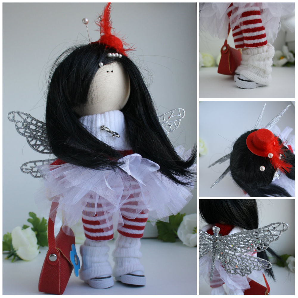 стрекоза, кукла в подарок, кукла коллекционная
