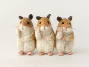 Из жизни валяных зверей: миниатюрные работы от higuma. Ярмарка Мастеров - ручная работа, handmade.