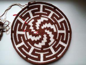 АНОНС!!! Мастер-класс по вязанию донышка колумбийской мочилы | Ярмарка Мастеров - ручная работа, handmade