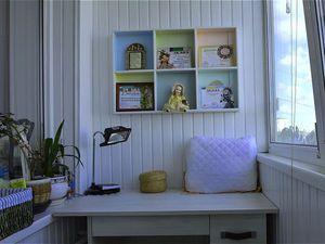 Мой миниатюрный кабинет на лоджии. Ярмарка Мастеров - ручная работа, handmade.