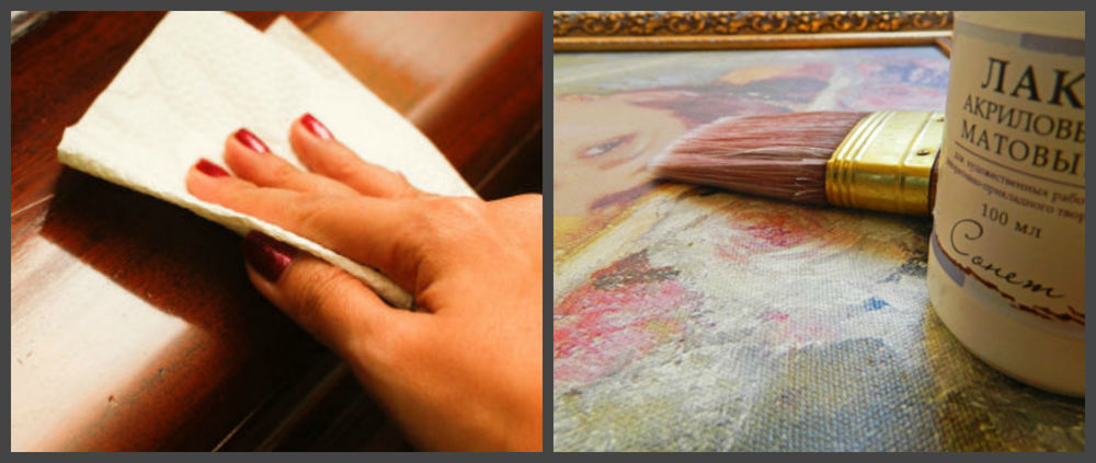 уход за картиной, масляная живопись