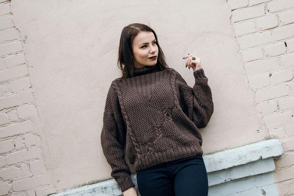 вязаный свитер, купить вязаный свитер, купить свитер, меринос, купить мериносовый свитер