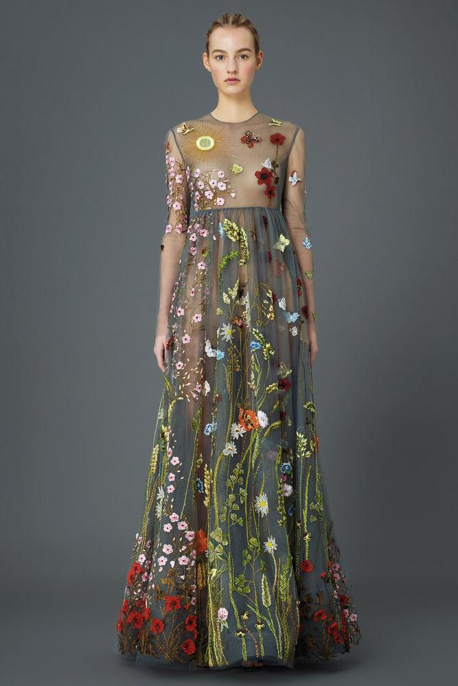 платья, цветы, опрос