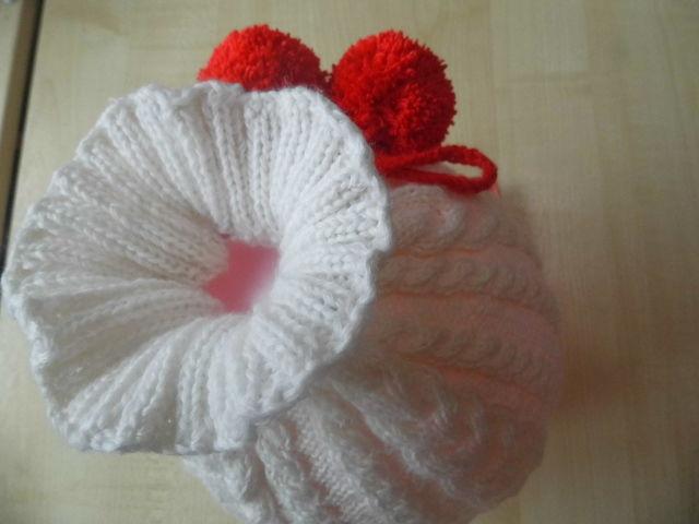 шапочка для девочки