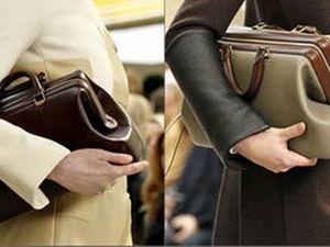 Модные деловые классические сумки