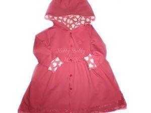 Видео мастер-класс: как сшить пальто с капюшоном для девочки. Ярмарка Мастеров - ручная работа, handmade.