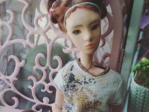 Фотоотчет с курса по шарнирной кукле из ладолла. Ярмарка Мастеров - ручная работа, handmade.