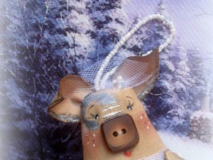 Новинка! И снова свинка)). Ярмарка Мастеров - ручная работа, handmade.