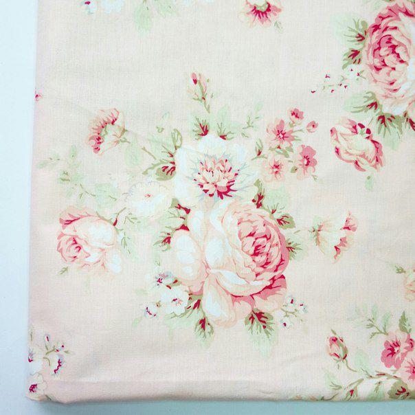 ткани цветы