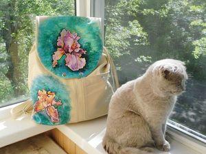 Вот и ещё один рюкзак готов))) | Ярмарка Мастеров - ручная работа, handmade