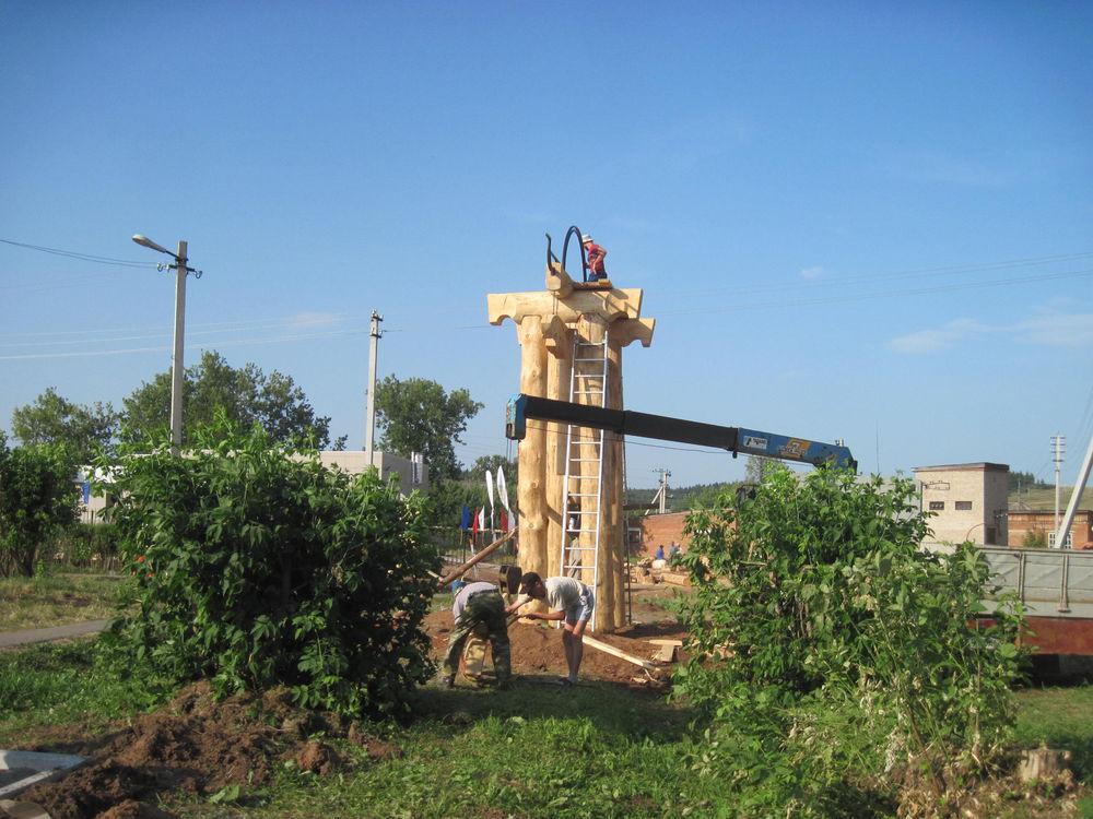 Об участии в международном фестивале деревянной скульптуры., фото № 18