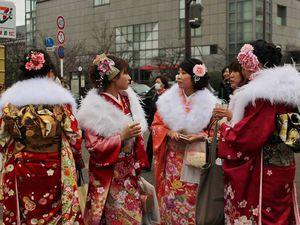 Праздник совершеннолентия в Японии 2017 | Ярмарка Мастеров - ручная работа, handmade