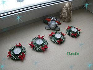 DIY Christmas Candle Holder at Home. Livemaster - handmade