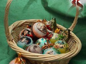 Новогодние шарики на заказ — только август и сентябрь!. Ярмарка Мастеров - ручная работа, handmade.