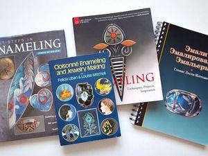 Книги по эмалированию (горячей эмали), видеообзор. Ярмарка Мастеров - ручная работа, handmade.