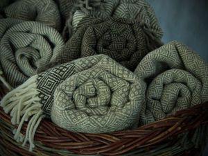 "Коллекция шерстяных пледов ""Пастораль"" — специальная цена. Ярмарка Мастеров - ручная работа, handmade."