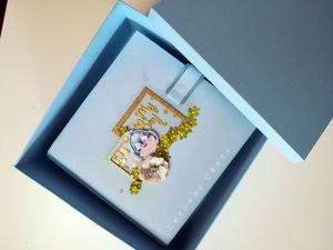 Коробка для альбома 20-20 см. Ярмарка Мастеров - ручная работа, handmade.