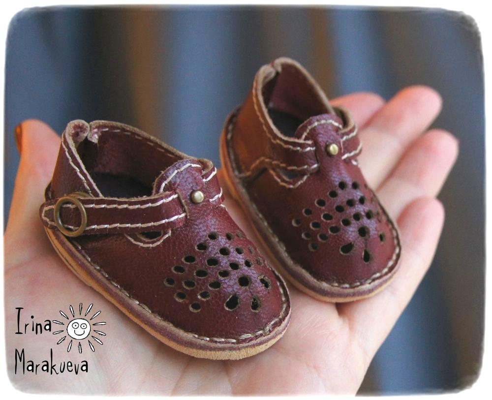 туфли, обувь для кукол, кнопки