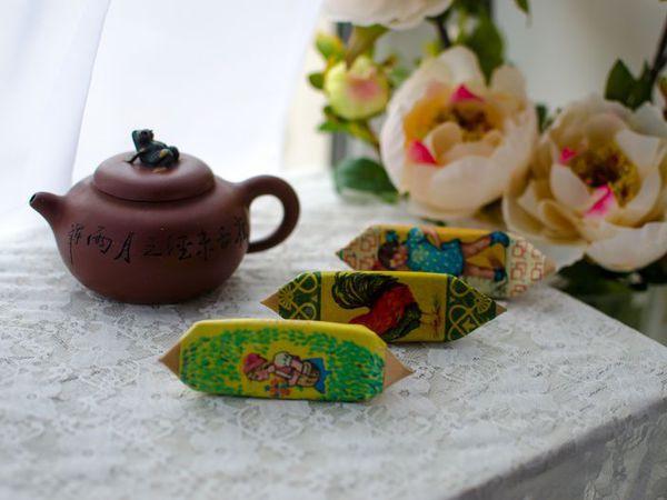 Шьем футляр для флешки «Приятного чаепития!»   Ярмарка Мастеров - ручная работа, handmade