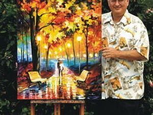 Осень Леонида Афремова. Ярмарка Мастеров - ручная работа, handmade.