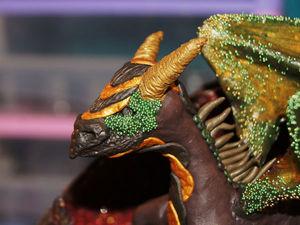 Пещера в стиле фентези с драконом. Часть 3. Ярмарка Мастеров - ручная работа, handmade.