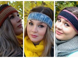 Новинки: повязки для волос (в подарок при покупке). Ярмарка Мастеров - ручная работа, handmade.