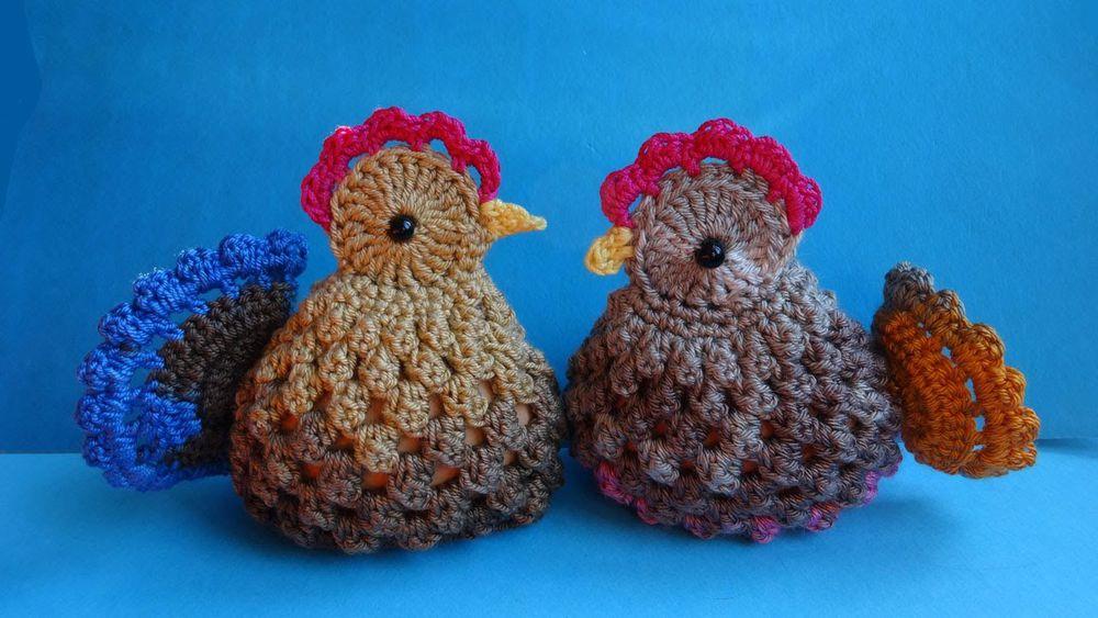 схема вязания цыпленка