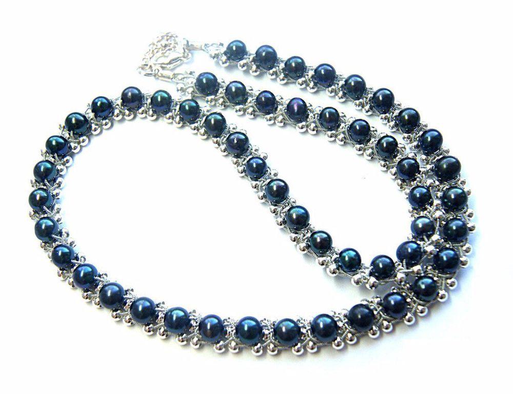 жемчужные украшения, жемчужное ожерелье, жемчужное колье, речной жемчуг, черный жемчуг, колье с жемчугом, ожерелье с жемчугом, украшения с жемчугом, серебряное колье, серебряное ожерелье, серебряные украшения, украшения для женщин, свадебное колье, черное колье, черное ожерелье