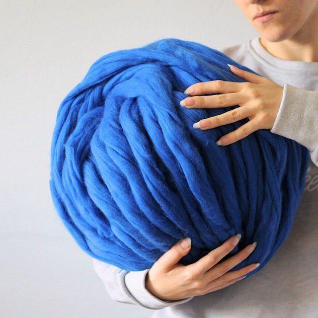 Пряжа из мериноса для вязания руками 365