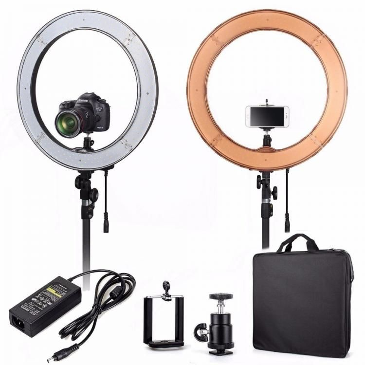 лампа для визажиста, лампа с лед освещением, лампа для салона, предметная съёмка, освещение, селфи, визажист, маникюр, кольцевая лампа недорого, лед освещение