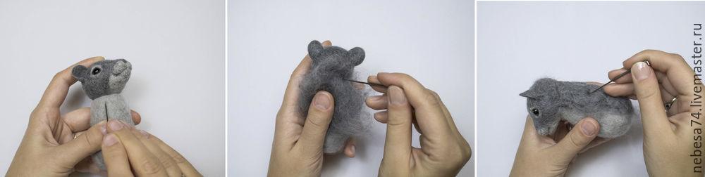 игрушка мышонок