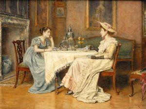 Акварели George Goodwin Kilburne: 65 роскошных полотен. Ярмарка Мастеров - ручная работа, handmade.