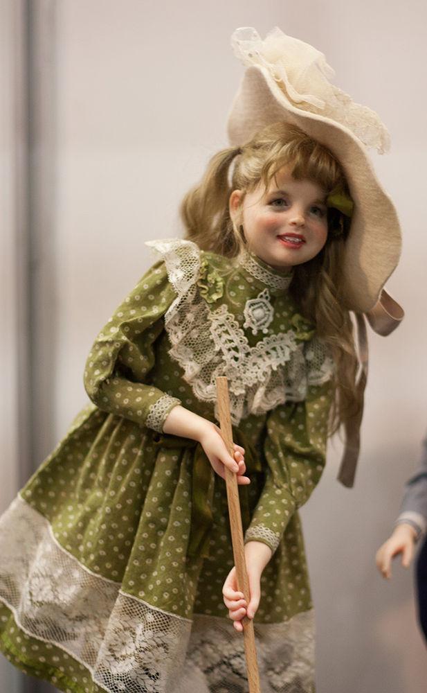 Как сделать текстильная интерьерная кукла 136
