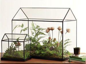 Флорариум в технике Тиффани: хрустальный домик для цветов. Ярмарка Мастеров - ручная работа, handmade.