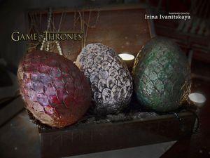 Создаем яйцо дракона по мотивам сериала «Игра Престолов». Ярмарка Мастеров - ручная работа, handmade.