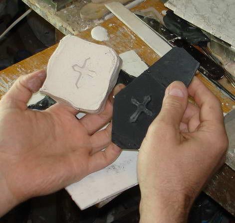 Как сделать гипсовую форму для изготовления однотипных изделий., фото № 14