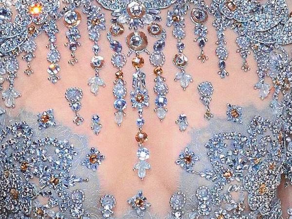 Вышивка высокой моды в новой весенней коллекции Elie Saab. Часть 2   Ярмарка Мастеров - ручная работа, handmade