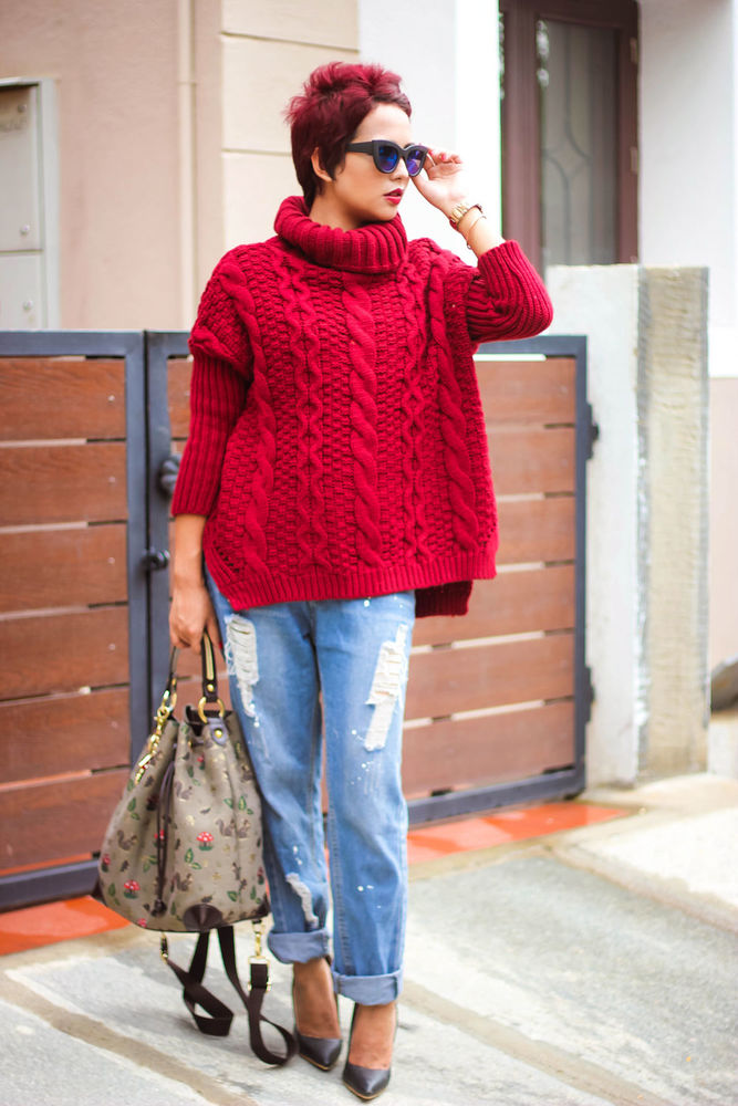 yarn on bobbins
