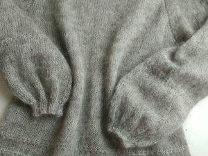 Аукцион на Серую Тунику из Итальянского Кидмохера !!!Старт 2600!!. Ярмарка Мастеров - ручная работа, handmade.
