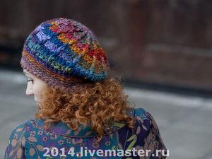 Новые цвета для осеннего берета. Ярмарка Мастеров - ручная работа, handmade.