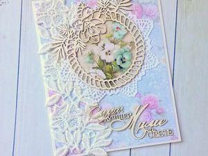 Делаем открытку для Мамочки. Ярмарка Мастеров - ручная работа, handmade.