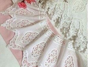 Принимаем заказ на Постельное белье с кружевом шитьем блюмарин. Смотрите фото! | Ярмарка Мастеров - ручная работа, handmade