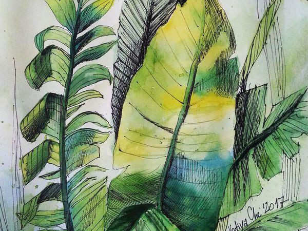 Если не хватает зелени... | Ярмарка Мастеров - ручная работа, handmade