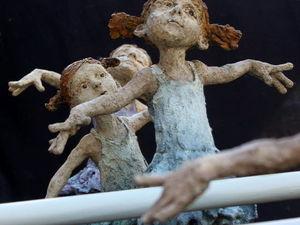 Живое в обыденном: теплые и очаровательные образы в скульптурах Jurga Martin. Ярмарка Мастеров - ручная работа, handmade.