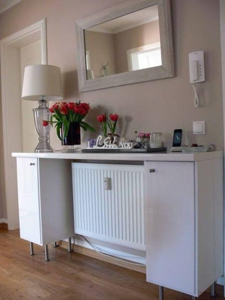 45 идей для декорирования батарей отопления, или Как «замаскировать» радиаторы отопления дома, чтобы не мозолили глаза, фото № 30