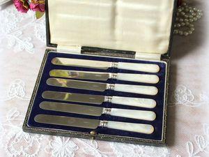 Дополнительные фотографии ножей для масла. Ярмарка Мастеров - ручная работа, handmade.