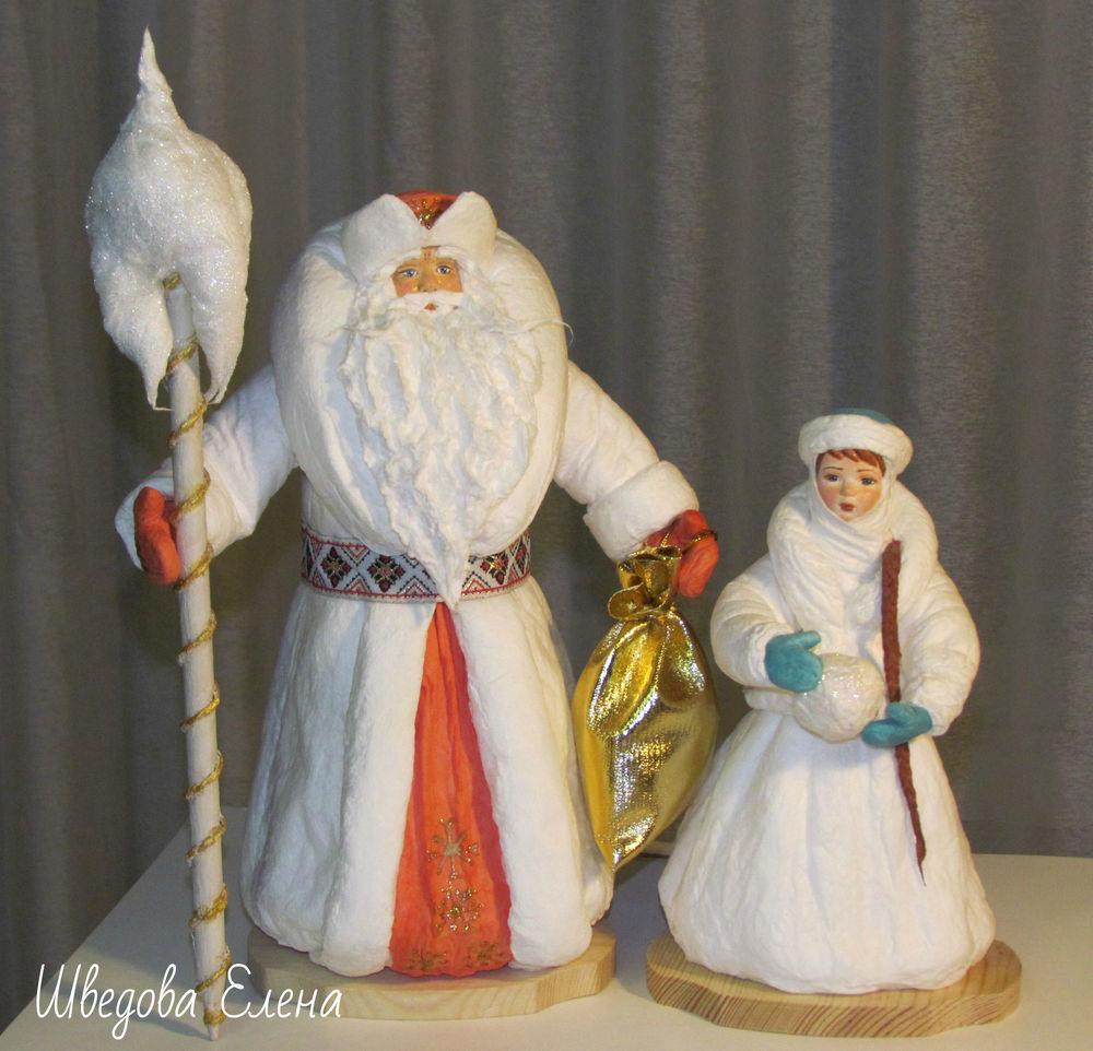 рождество, ватная елочная игрушка