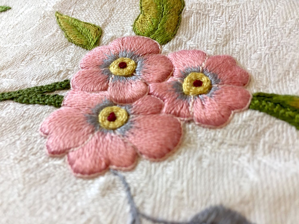 якобинская вышивка, схема для вышивки