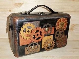 Скоро в продаже !Шкатулка-чемодан. | Ярмарка Мастеров - ручная работа, handmade